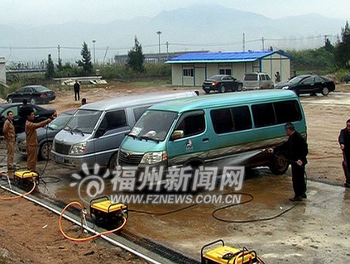 福建新闻网·罗源投70多万新建一洗车场 进城