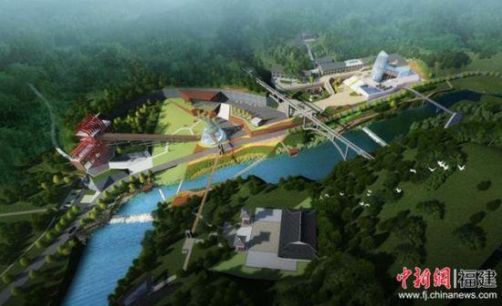 矿区新貌设计图