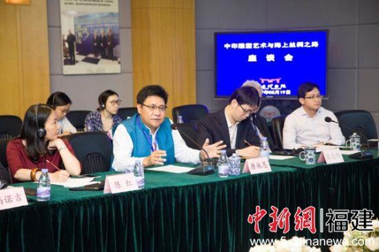 印度驻广州领事馆总领事唐施恩发言。江净沙 摄。