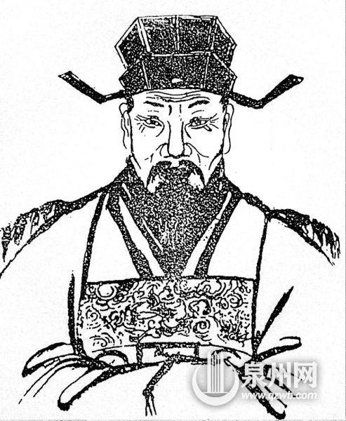 在温陵芝山洛阳派刘氏的族谱中珍藏着南宋抗金名将刘锜的画像