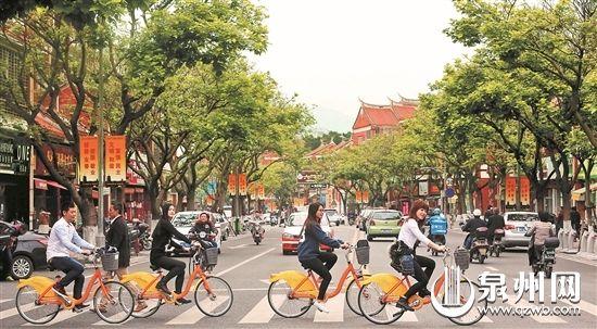 骑上单车感受古城魅力