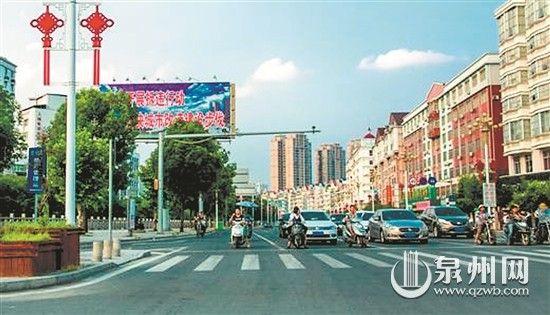 瓷都大道上的公益广告牌