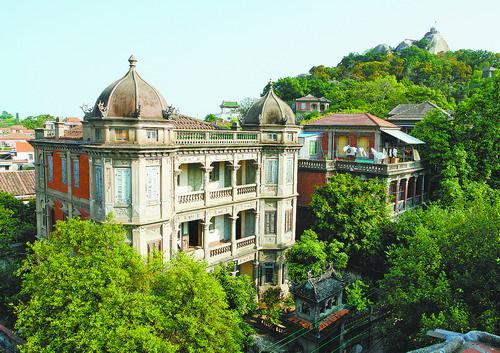 黄赐敏别墅是鼓浪屿文化遗产之一。(鼓浪屿管委会供图)
