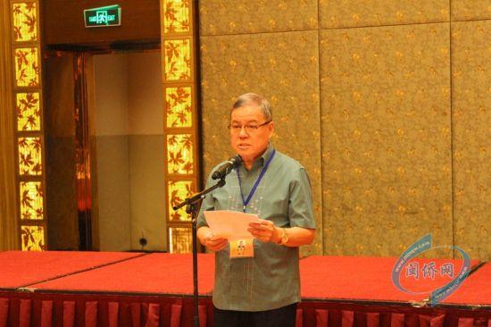 菲律宾晋江同乡总会、晋江商会理事长施亨利致辞