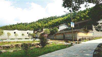 环境优美的长埂小源村