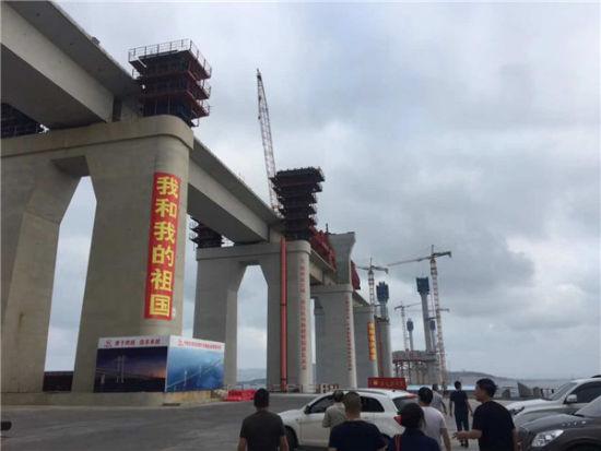 福平铁路海峡大桥。