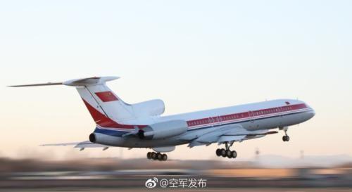 图片来源:中国空军官方微博。