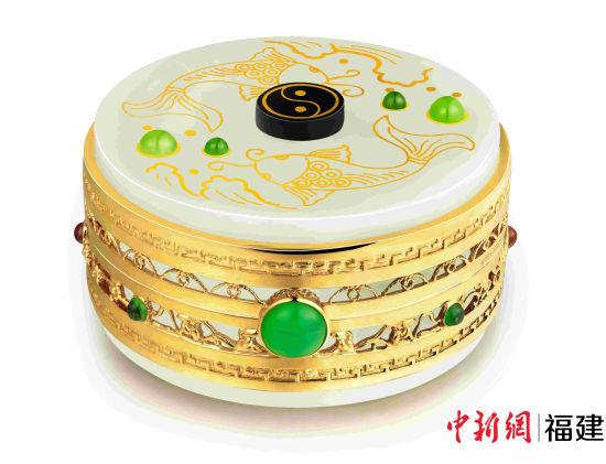 图为华昌珠宝有限公司所制作的闻香识玉。主办方供图