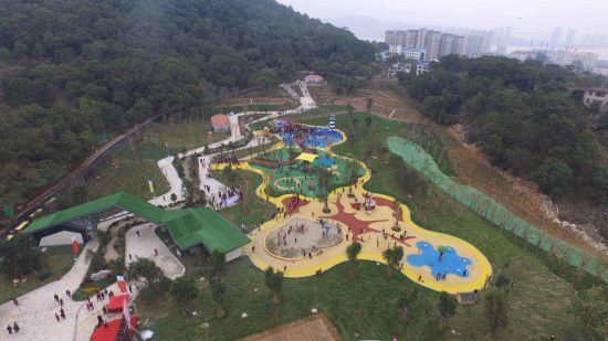 广州12座公园生态打造开园建成有福之州生态店福州v公园图片
