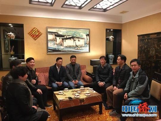何文强一行拜访致公党福清市委会,双方进行友好座谈交流。 郑松波 摄