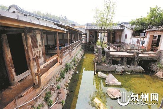 永春侯龙书院正在保护修缮