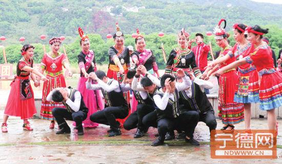 启动仪式吸引上千畲汉同胞参与