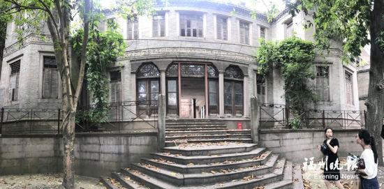 采峰别墅已修缮完毕。