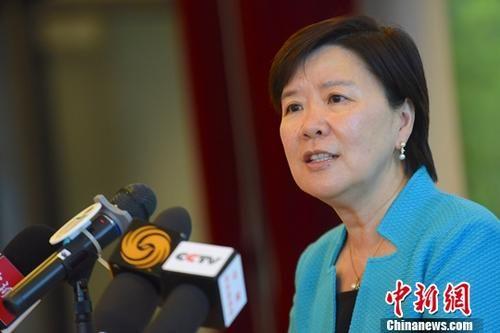 中国科学院院士、香港科技大学副校长叶玉如近日接受了中新社记者采访。中新社记者 麦尚旻 摄