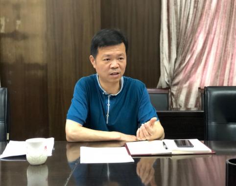 福鼎市副市长肖剑华接受《闽商》杂志采访