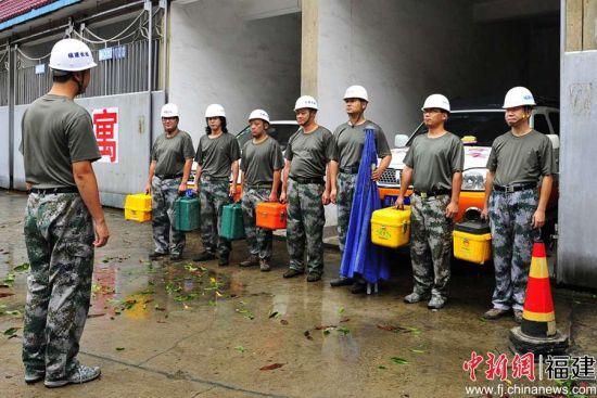 抢修队接受任务。