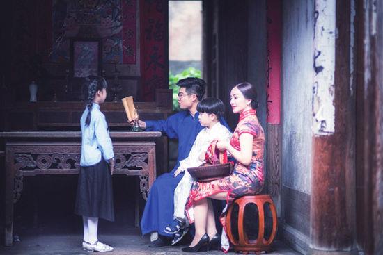 蕉城鹏程历史文化街区:聚焦旗袍秀v街区旧时光上门情趣用品图片