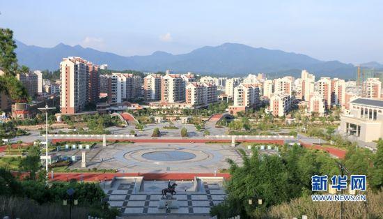 武平县城一隅。新华网 肖和勇 摄