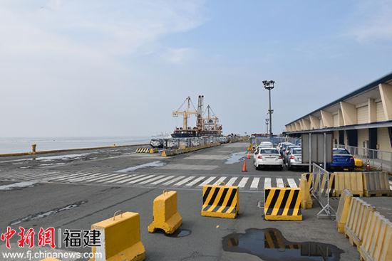 查看邮轮抵达的码头。