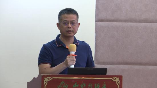 福建新大陆电脑股份有限公司高级工程师蔡春水.