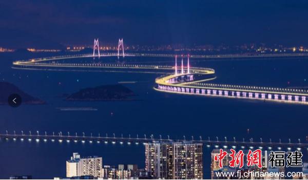 港珠澳大桥图-又一重磅 湾系 产品面世,泰禾澳门湾直面港澳