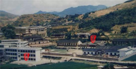 上世纪80年代崇文中学校舍