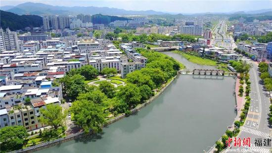 3、全国林改第一县武平县城风景。武平新闻网供图