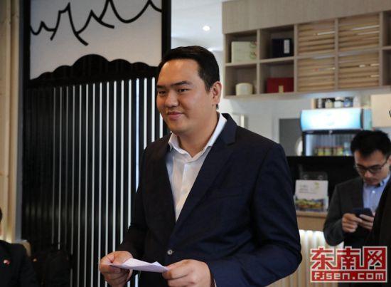 法国澳门正规赌博网站大全工商联合会常务副会长林建斌致辞。