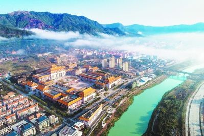 位于仙游县榜头镇的中国古典工艺博览城。