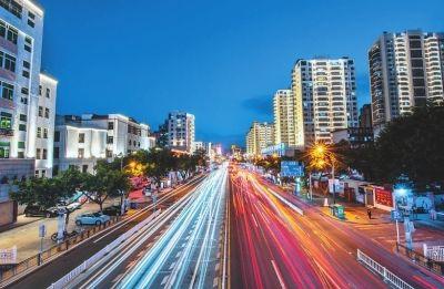荔城大道夜景