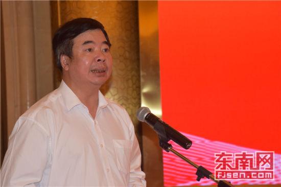 泉州市委常委、统战部部长林万明致辞。