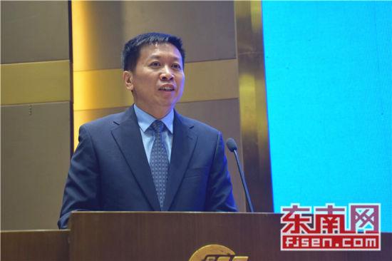 澳门网上博彩娱乐官网驻菲律宾达沃市总领事黎林致辞。