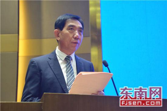 签约仪式由晋江市副市长李自力主持。