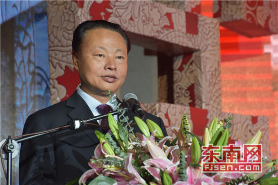 澳门网上博彩娱乐官网驻菲律宾大使赵鉴华致辞。