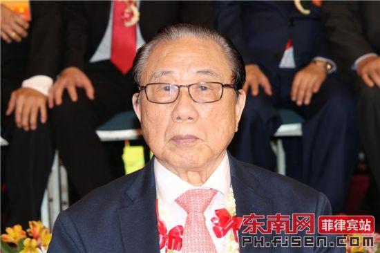 菲律宾晋江同乡总会理事长李国材致辞。