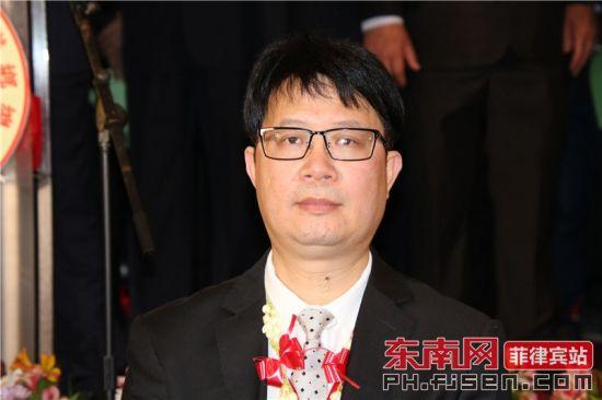 澳门龙湖同乡会庆贺团团长吴东秒致辞。