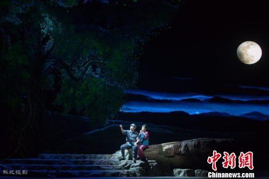 《松毛岭之恋》剧照。福建省文化和旅游厅供图