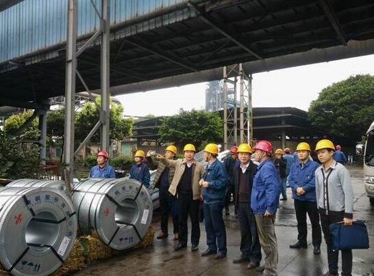 图为驻省生态环境厅纪检组一行3人深入三明市调研党风廉政建设和纪检监察工作。