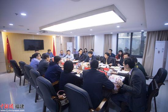 省委军民融合办有关负责同志会见了中信信托相关负责人。李南轩 摄