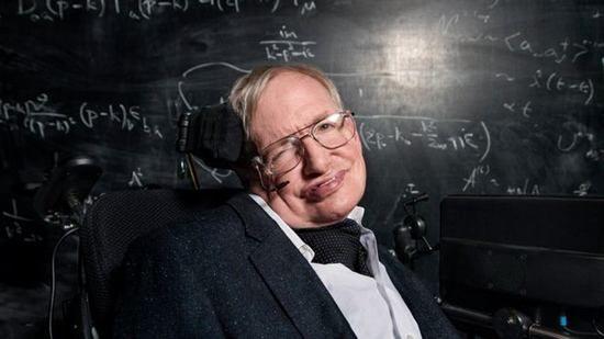 资料图:英国物理学家霍金。