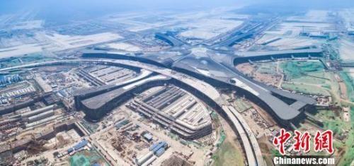 北京新机场。北京新机场建设指挥部供图
