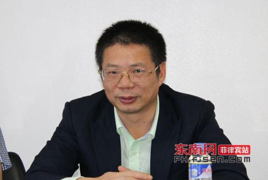 厦门市人民政府外事侨务办公室副主任姚建洪致辞