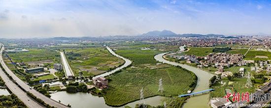 规划建设中的晋江休闲农业。陈谋演 摄