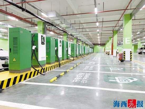 新建、扩建的300根恒功率充电桩在技术上进行了更新。