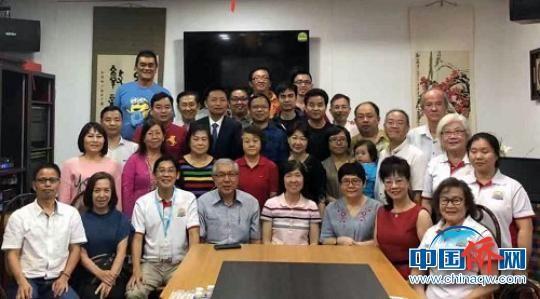 程璇拜会新加坡厦门公会。