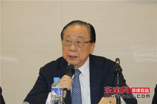 菲律宾晋江同乡总会理事长李国材致辞