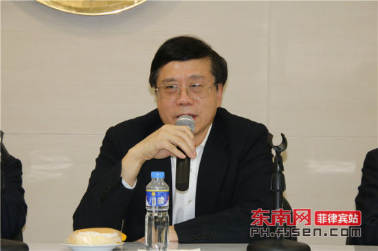 福建省委统战部副部长兼省侨办主任冯志农致辞