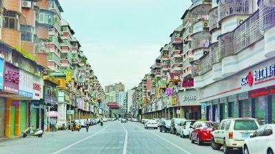 """创立""""无癣城市""""以后到,漳州主城区路途整顿洁皓净。 (材料图片)"""
