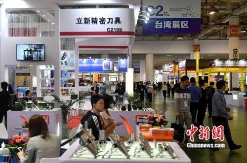 图为台湾展区。吕明 摄