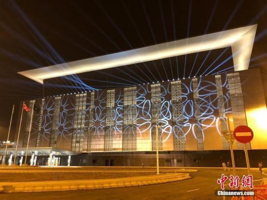 资料图:港珠澳大桥澳门口岸旅检大楼。中新社记者 邓媛雯 摄